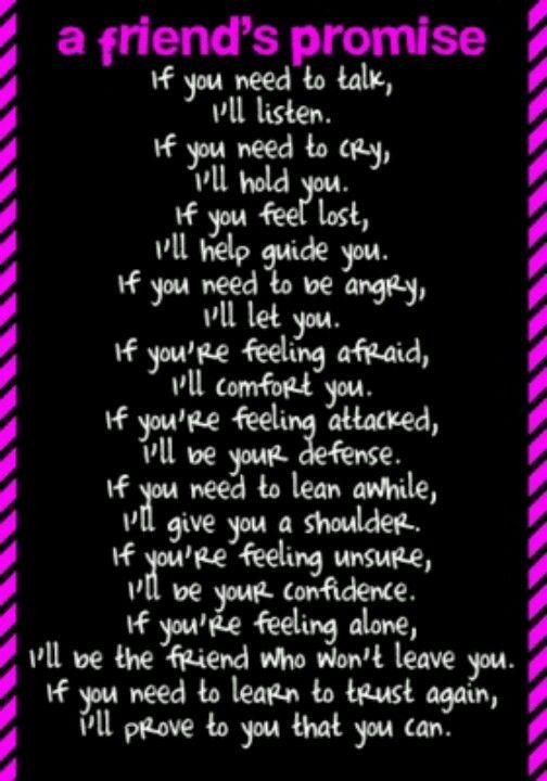 BFF if u need to cry.....
