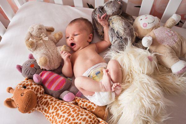 ella's newborn shoot