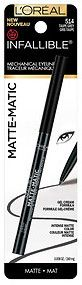 L'Oreal Paris Infallible Matte-Matic Mechanical Eyeliner, Charcoal