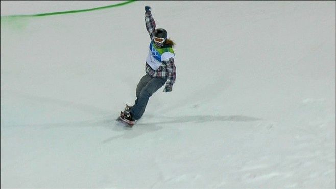 Shaun White dominates the Olympic Half Pipe at Cypress!
