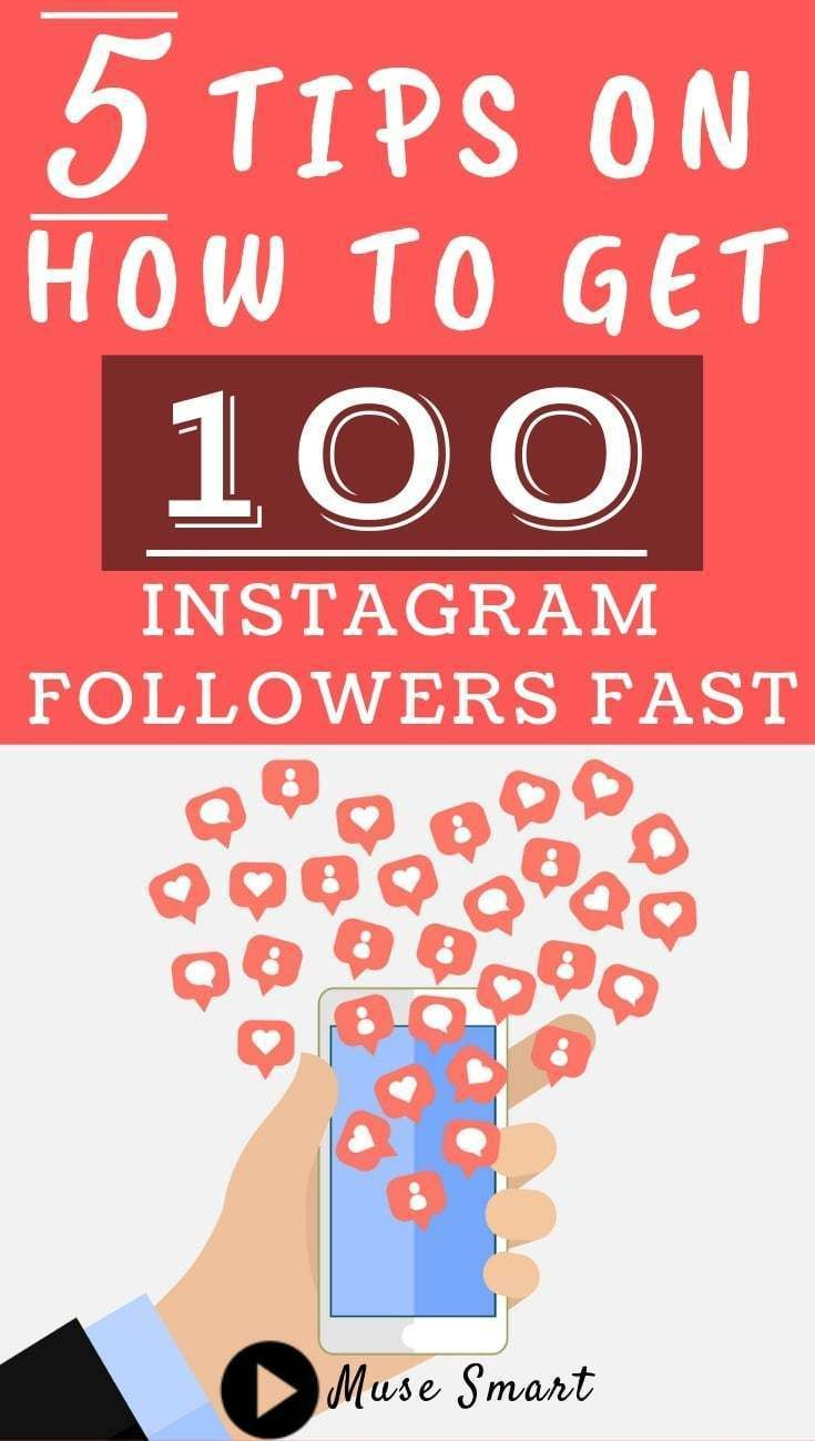How To Get 100 Instagram Followers Fast Instagram Followers Instagram Business Increase Blog Traffic