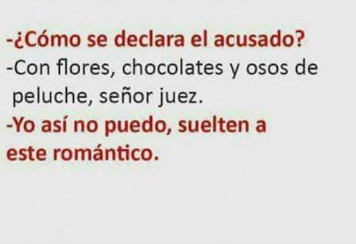 Acusado romantico . Para más imágenes graciosas visita: https://www.Huevadas.net #meme #humor #chistes #viral #amor #huevadasnet