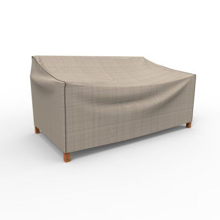 Budge English Garden Patio Loveseat Covers, Durable And Waterproof Outdoor  Furniture Covers, Beige