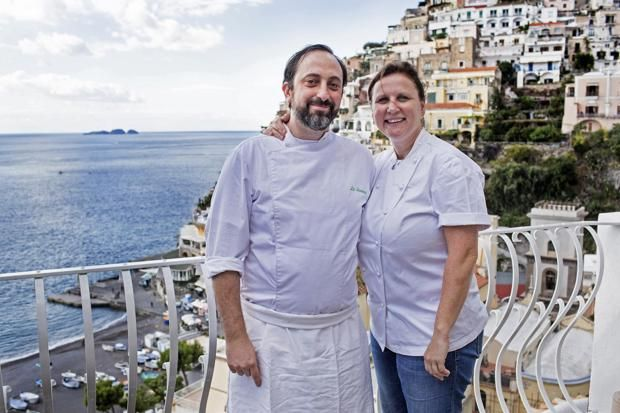 Top chef Angela Hartnett's gives her top ten places to eat on the Amalfi coast, Italy