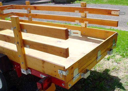 Harbor Freight Trailer Sides