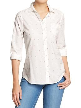 Women's Oxford Shirts | Old Navy -  Inexpensive Dress Shirts