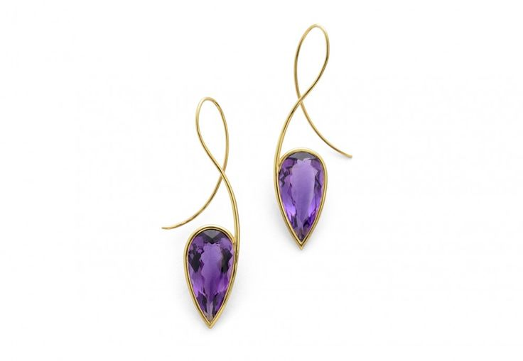 18-carat-gold-and-amethyst-earrings