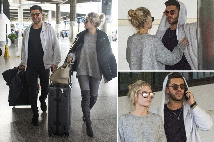 Alex Mytton and Lottie Moss arrive in Barbados for first holiday as a couple