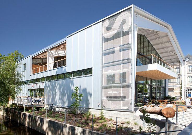 Навес магазина и кафе, Healdsburg, 2013 - Дженсен архитекторов