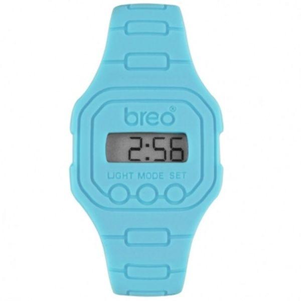 blue digital watches | ... Watches › Breo Watches B-TI-TD12 Spectrum Light Blue Digital Watch