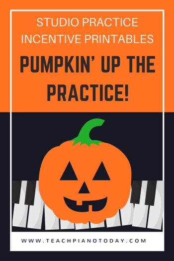 Free printables for a really simple studio-wide practice incentive event that is festive and fun for piano students!