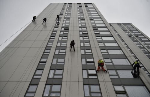 London apartment tower fire triggers emergency inspections...  London apartment tower fire triggers emergency inspections evacuations  The deaths of 79 people in a London apartment tower have triggered emergency inspections evacuations and soul searching among British officials who failed to prevent the tragedy.  But fire-safety experts say governments and builders around the world should take notice because the fire at Grenfell Tower is just the latest in a string of deadly blazes that…