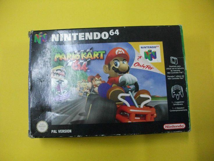 Juego Para Consola Nintendo 64 - Mario Kart 64  - Buen Estado