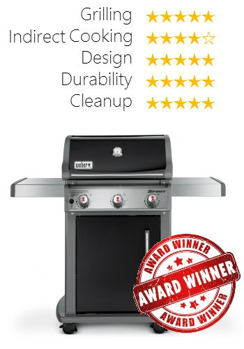 best gas grill less than 500 weber spirit e310 was our winner after - Small Gas Grills
