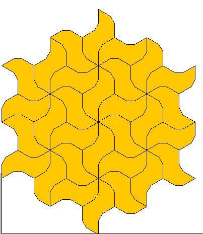 Tegels leggen - voorbeeld 2