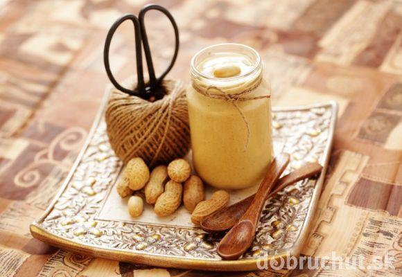 Domáce arašídové maslo