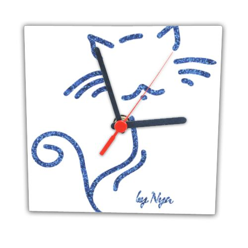 GLITTER CAT NYA Orologio con foto