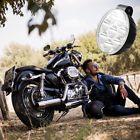 Universal Motorcycle Headlight 40W LED White Turn Signal Indicators With Bracket