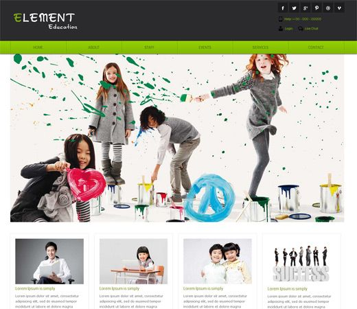 html5 website templates free download for college - Romeo.landinez.co