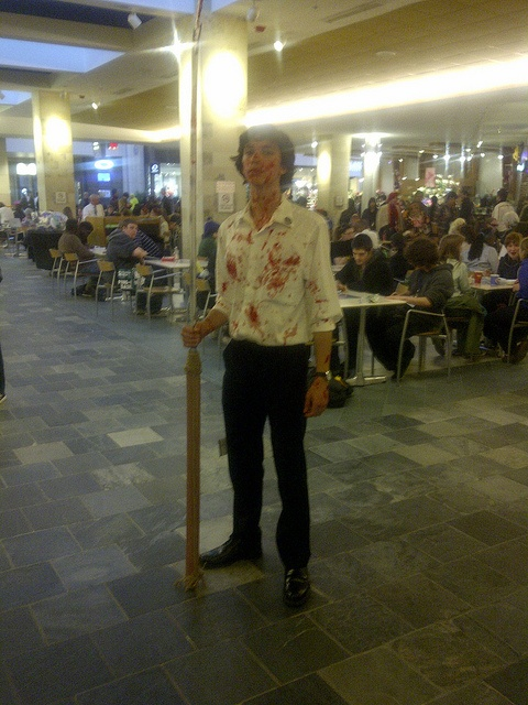 GOING TO ANIME BOSTON AS MANY TIMES AS HUMANLY POSSIBLE THIS wins hands down. (Sherlock cosplayer at Anime Boston)