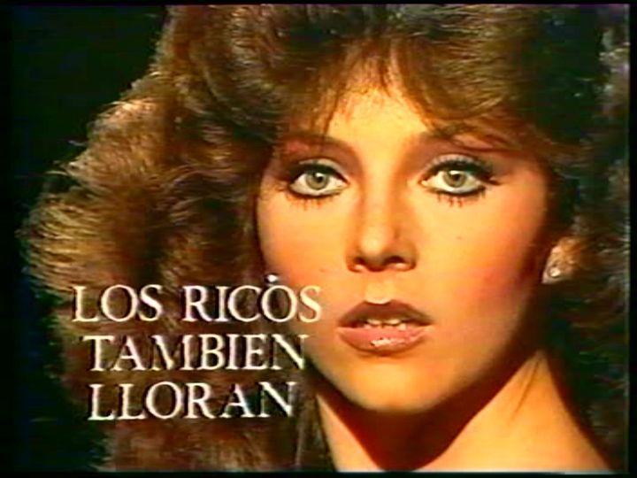 La guapa Verónica Castro en la inolvidable telenovela, Los Ricos también lloran