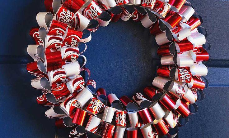 Crafts n' things Weekly - soda can wreath