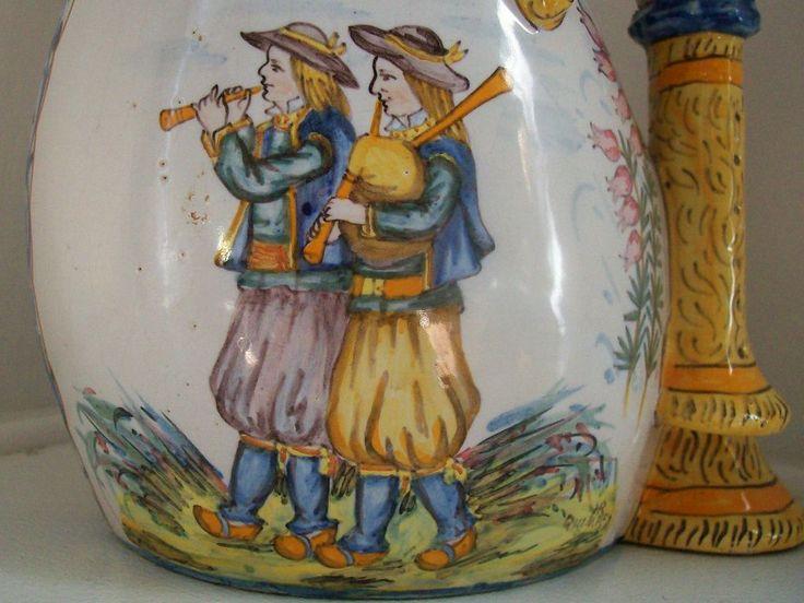 197 best images about quimper and malicorne vintage pottery on pinterest antiques rare. Black Bedroom Furniture Sets. Home Design Ideas