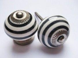 103 Porseleinen kastknop