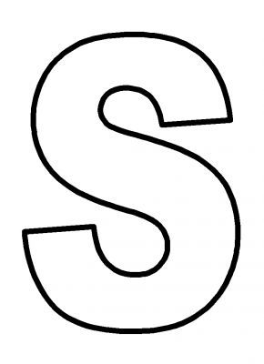 Large Print Size Bubble Letters Alphabet | ... home large coloring letters upper case alphabet letters file 19 26