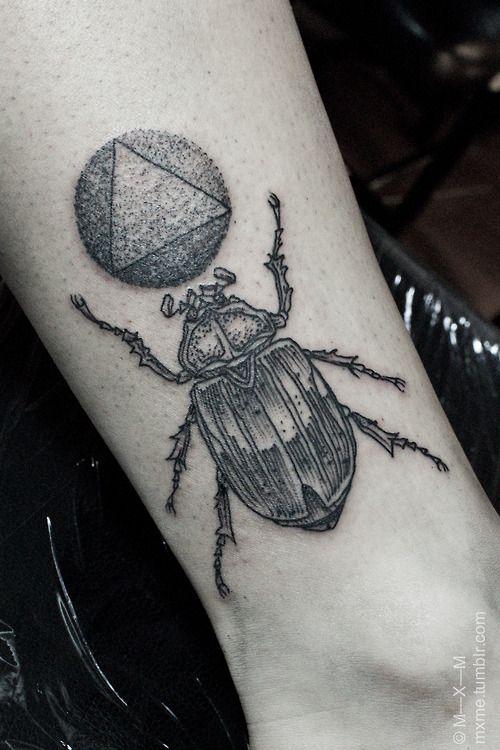 Tattoo by Maxime Büchi / M—X—M | PAINT my BODY | Pinterest | Tattoos, Bug tattoo and Ink