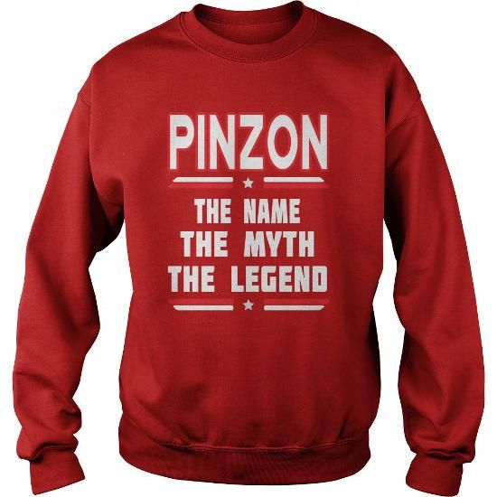 Awesome Tee PINZON The NAME The Myth The Legend T shirts
