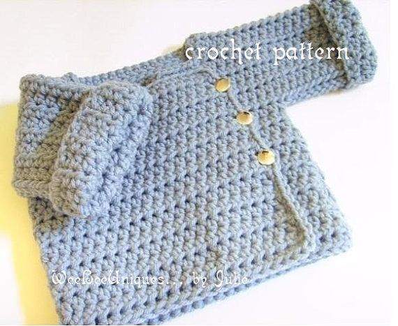 *This listing is for the PDF instant digital download crochet pattern only* If you would like to purchase the actual playtime sweater in your color choice please message me! Super sweet and oh so cute playtime sweater makes a great gift, perfect for boys and girls! Easy to craft need to know ch, sl st, hdc and attaching. Make them in a variety of colors. This style is great for playtime with 3/4 length sleeves that easily cuff up. Keeps kids warm and arms free without sleeves hanging ...