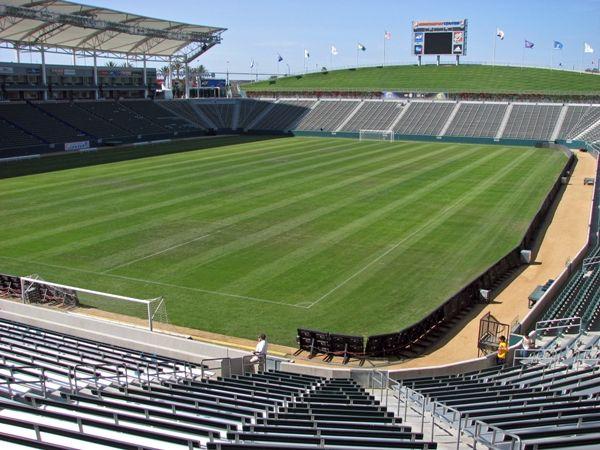 Estadio donde jugarán el Real Madrid y La Galaxy de los Angeles 2012