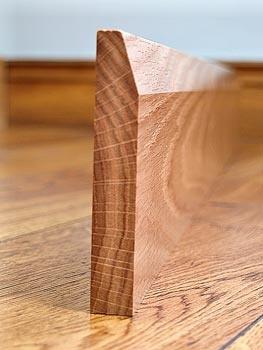 Oak Skirting Boards Chamfered