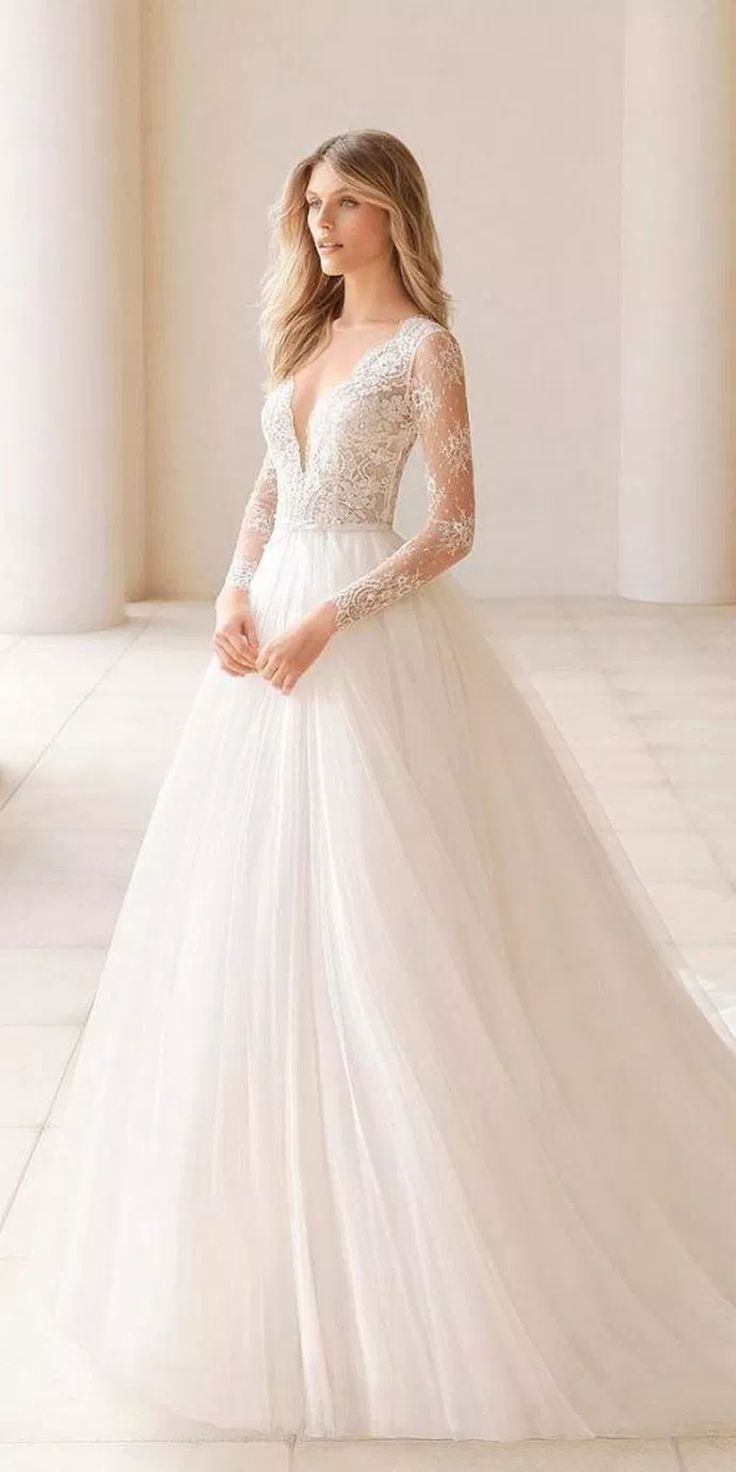 38 Stunning Fall Wedding Dress Ideas For Unforgettable Moments