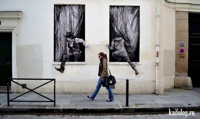 Уличные граффити (50 фото)