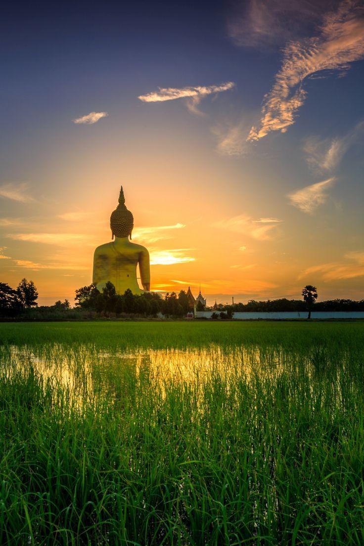 Great Buddha, Wat Muang, Thailand