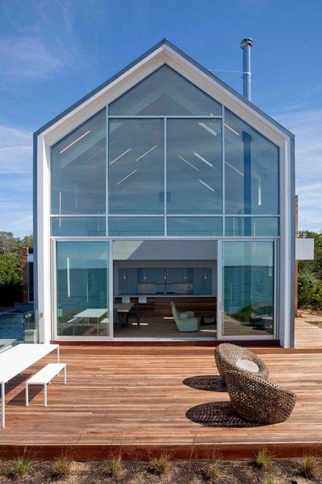 Peconic Bay House, Southampton, New York by Naiztat + Ham Architects