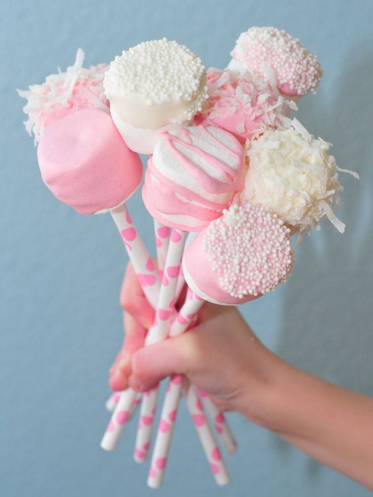 Paper Straw Marshmellow Sticks