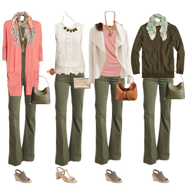 Don't just stick to blue jeans - great colour combination for Warm or Soft/warm colouring -  http://www.lookingstylish.co.uk
