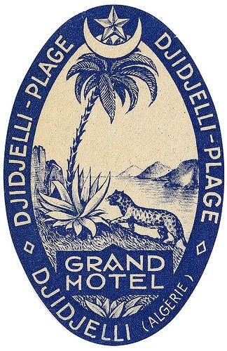 Grand Hotel _______________________________ Djidjelli Plage ~ Algeria