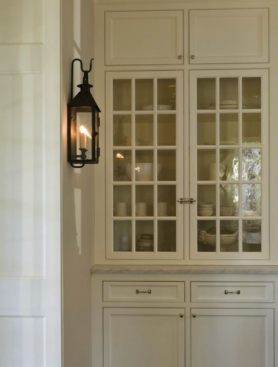 SallyL: Anne Decker Architects - Beautiful custom cabinetry with glass paneled doors for display ...