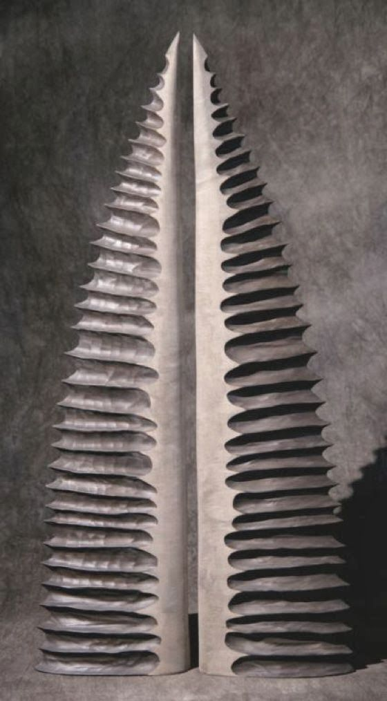 patternprints journal: WONDERFUL SURFACES AND TEXTURES INTO WOOD SCULPTURES BY THIERRY MARTENON