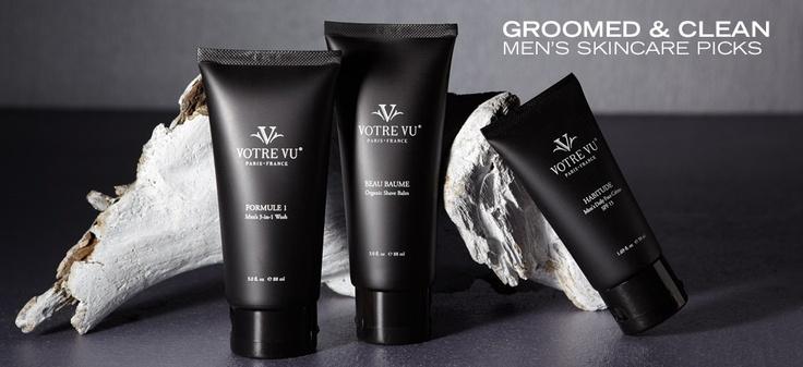 Groomed & Clean: Men's Skincare Picks - http://tieasy.net/groomed-clean-mens-skincare-picks/