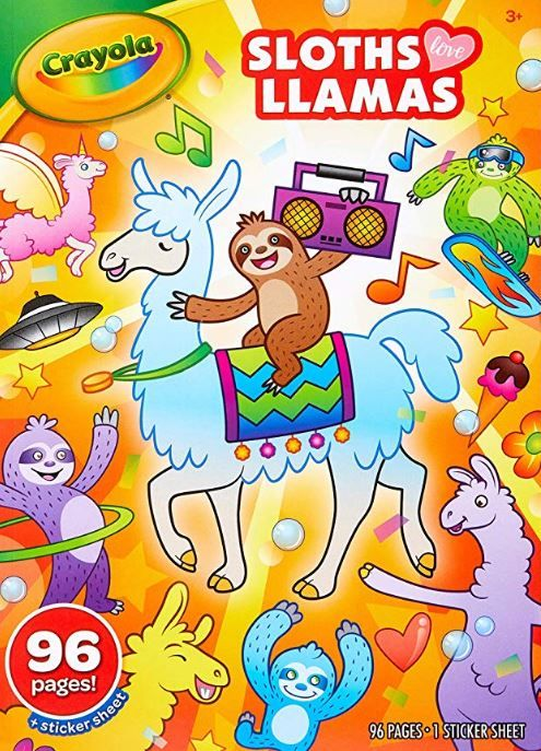 Don T Hurry Be Happy Relax With A Great Sloth Coloring Page Or Maybe A Whole Book Hanging With Sloths Coloring Books Kids Coloring Books Crayola
