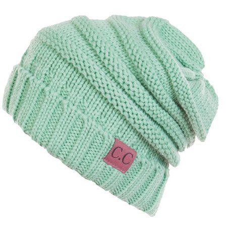 4b3909f0b94 C.C Women s Thick Soft Knit Beanie Cap Hat