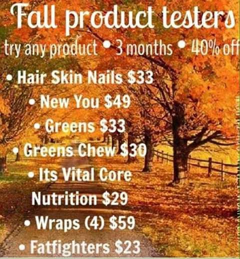 I need 5⃣ product testers at my discount price for a 90 day challenge ‼ Who has one of the following goals ⁉ ✳ Diminish Stretch Marks (pregnant or not!)  ✳ Needs 8 servings of fruits & veggies to be a healthier you ! ✳Would like to sleep better ! Fall asleep faster and stay asleep  ✳Looking to lose 20-30 pounds  ✳Someone who wants to turn back ⌛ time ⌚ and have a younger looking face!  ✳Tighten, tone, and firm anywhere from the neck down  ✳Need less anxiety , more focus, and anti