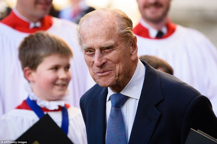 14.3.2016 Prince Philip, pictured, has been married to The Queen since 1947 and been at her side for...