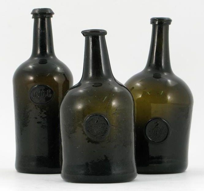 Dating wine bottles