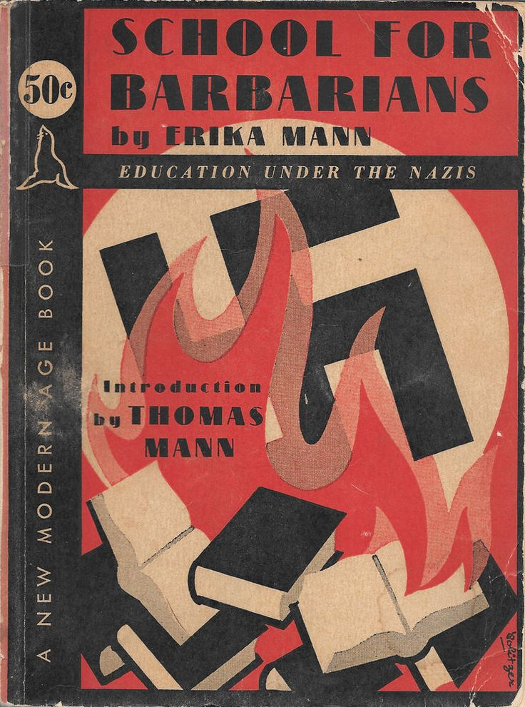Book Cover Drawing Quest ~ School for barbarians erika mann first edition